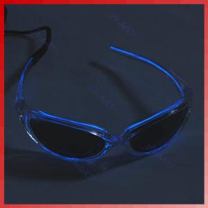 Neon-Brille NeonBlau