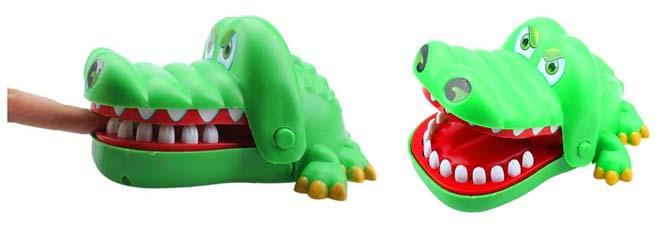 krokodil zahn ziehen