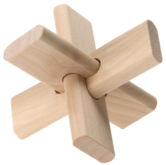 Knobelspaß aus Holz