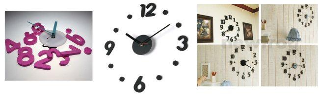 sei kreativ bau dir deine wanduhr selbst china gadgets. Black Bedroom Furniture Sets. Home Design Ideas