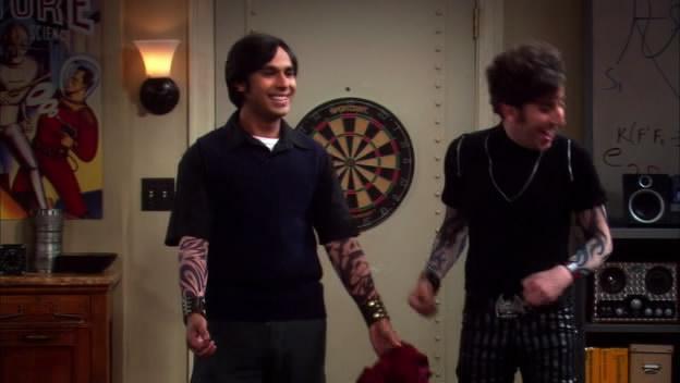 Fake Arm Tattoos Big Bang Theory