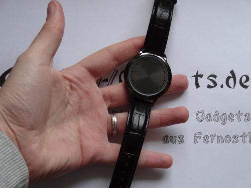 LED Touch Uhr: nette Verarbeitung