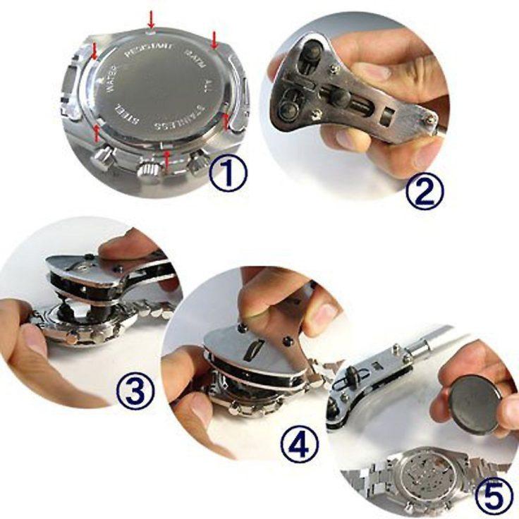 Uhrengehäuseöffner Anleitung