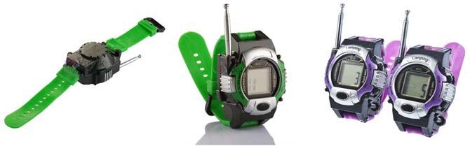 das ist ein gadget zwei walkie talkie uhren f r 6 51. Black Bedroom Furniture Sets. Home Design Ideas