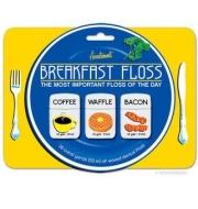 frühstück kaffee waffel zahnseide