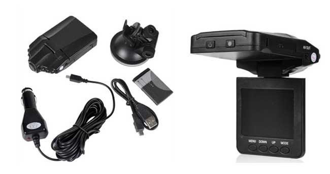 auto kamera mit display dash cam f r 17 40. Black Bedroom Furniture Sets. Home Design Ideas