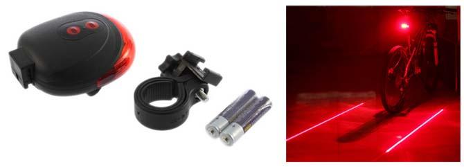 laser licht fahrrad