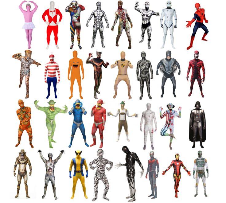 Morphsuit-Kostüme