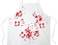 Blutige Metzger Grillschürze