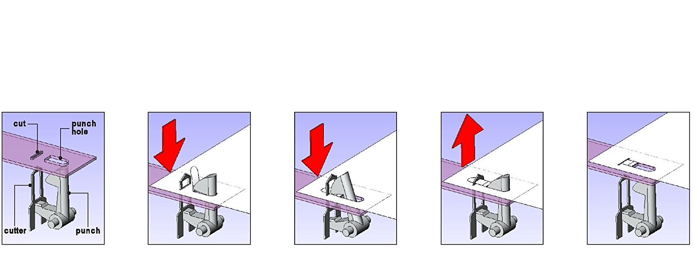 mini tacker ohne klammern g nstiges gadget f r das b ro. Black Bedroom Furniture Sets. Home Design Ideas