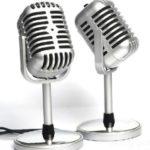 Nostalgie Vintage-Mikrofon ab 6,57€