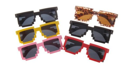 pixel-sonnenbrille
