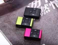 Clip on MP3 Player in verschiedenen Farben