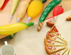 Pizza & Gemüse Kugelschreiber