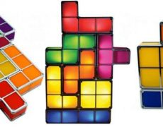 DIY Tetris Lampe
