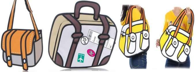 2d handtasche