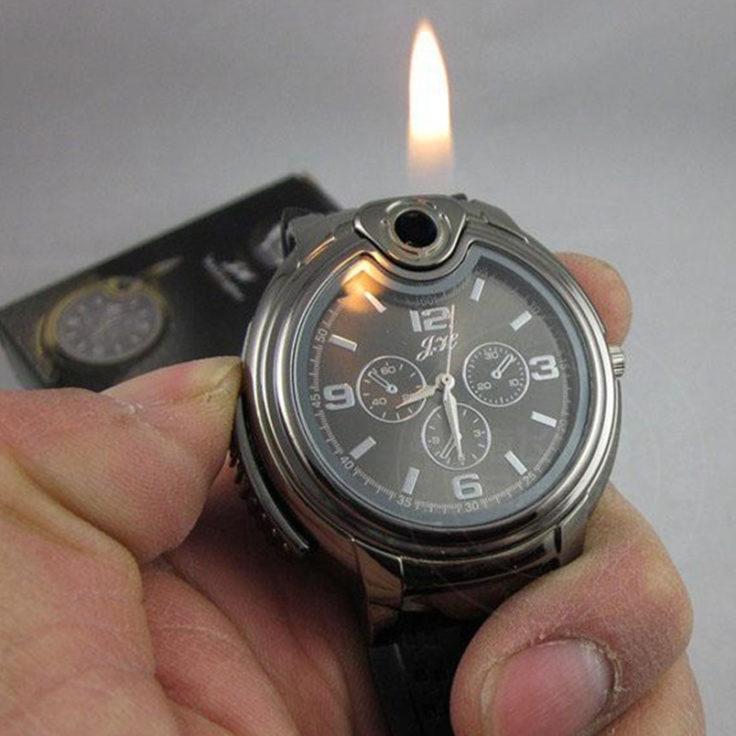 Feuerzeug-Uhr Flamme
