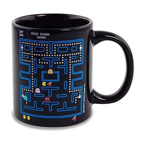 schwarze Tasse mit Gamingmotiv