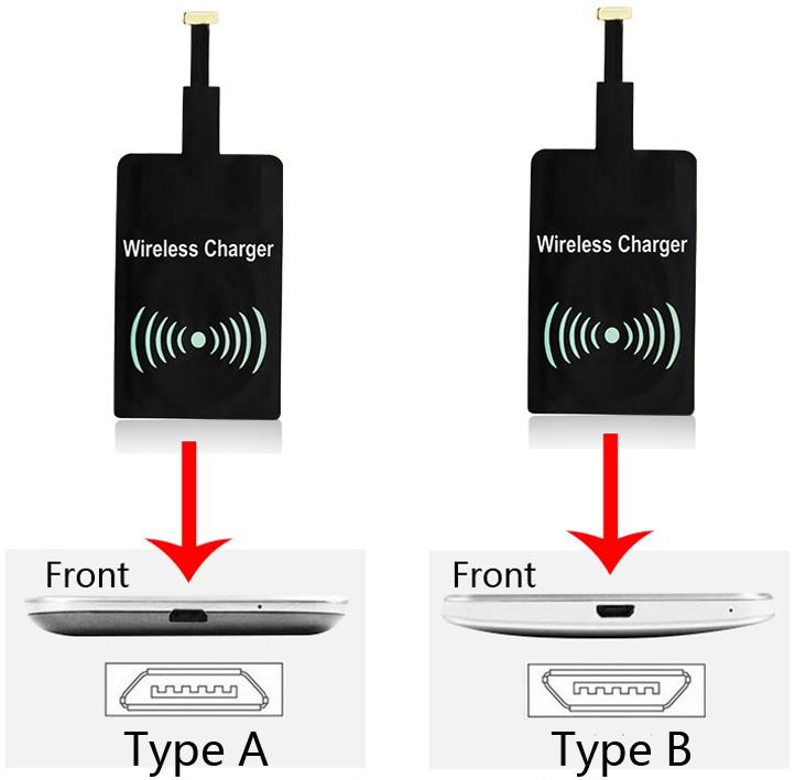 qi receiver pads f r kabelloses laden des smartphones ab 1 88. Black Bedroom Furniture Sets. Home Design Ideas
