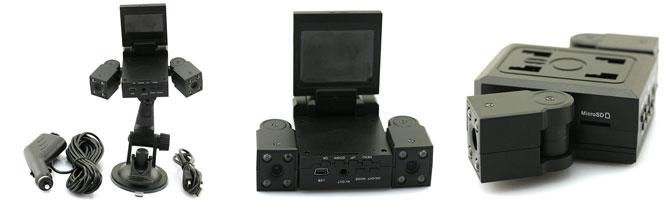 dash cam f rs auto mit 2 kameras f r 26 47. Black Bedroom Furniture Sets. Home Design Ideas