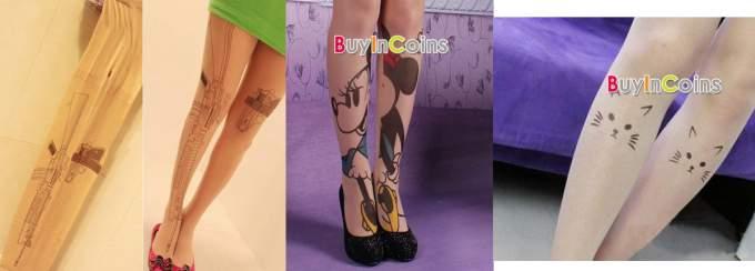 tattoo-strumpfhose