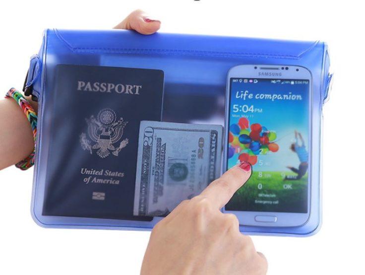 Wasserdichte Strandtasche Smartphone Wertsachen
