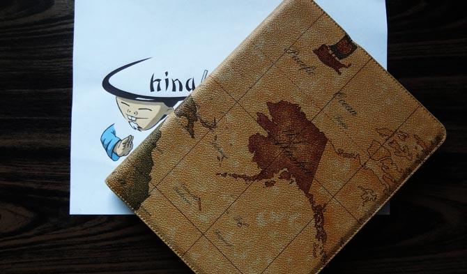 Einfach schön - das Weltkarten-Smartcover für das iPad