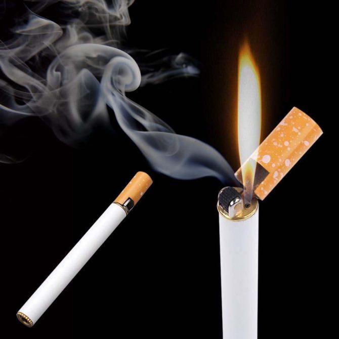 Zigarette-Feuerzeug-Metall(2)