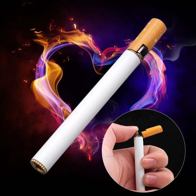 Zigarette-Feuerzeug-Metall(4)
