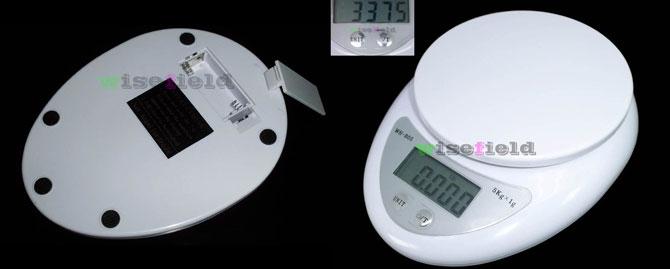 Digitale Kuchenwaage Bis 5kg Fur 3 97