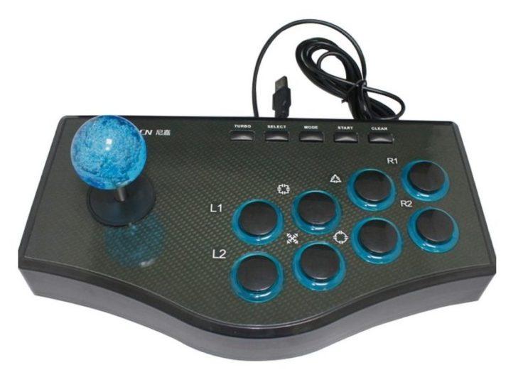 Perfekt für Street Fighter und Co. ! DAs USB Arcade Gamepad