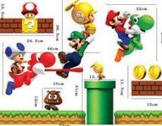 Super Mario Wandsticker