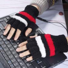 Beheizbare USB-Handschuhe