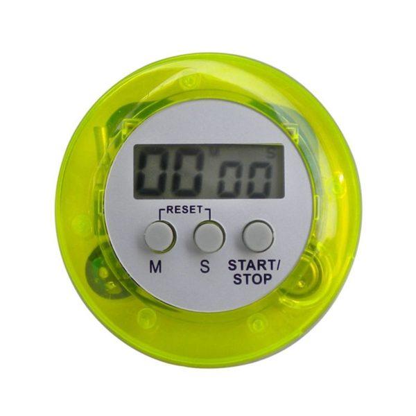 Digitale Eieruhr mit Magnet grün