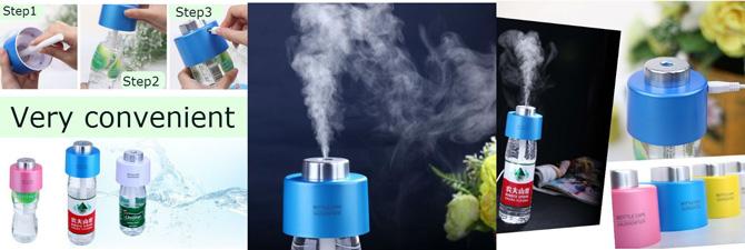 Elektrischer Luftbefeuchter für Flaschen