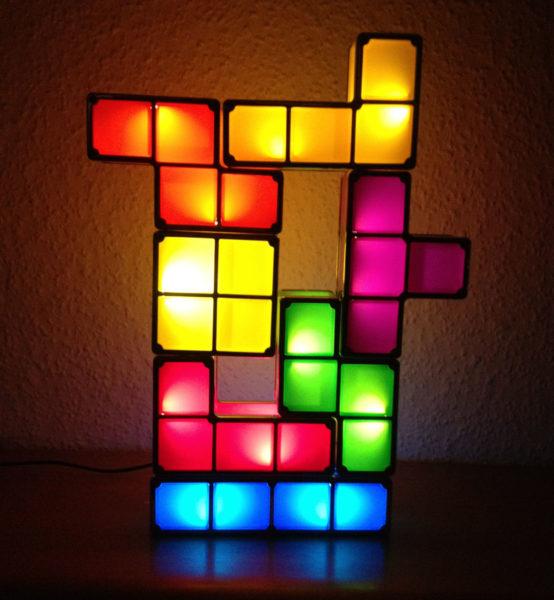 DIY Tetris Lampe Userbild