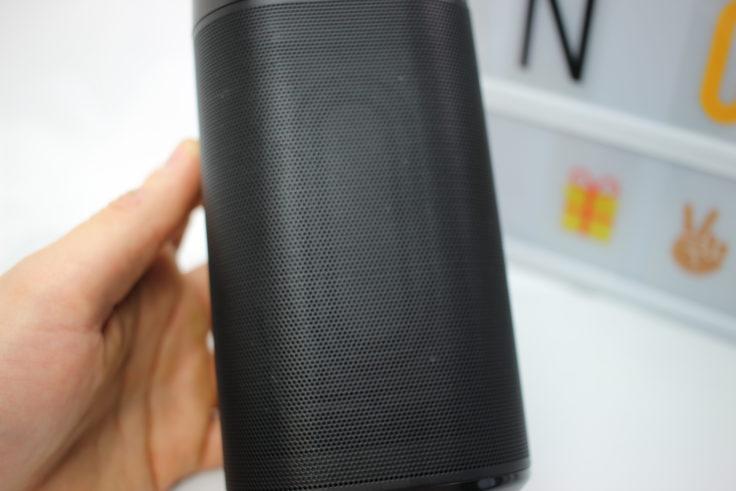 EasyAcc Dolcer DP300 Passivstrahler auf den Seiten des Speakers