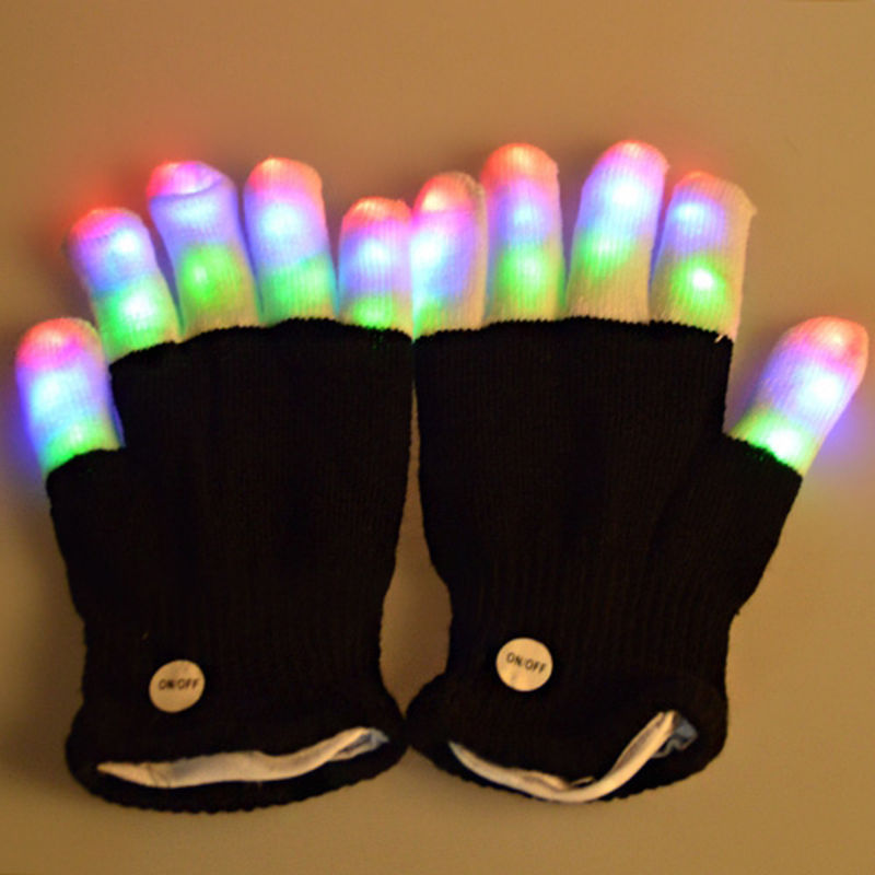 led handschuhe im winter richtig auffallen f r 2 63. Black Bedroom Furniture Sets. Home Design Ideas