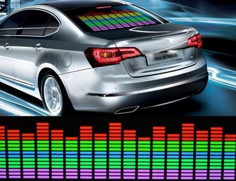 Auto-LED-Matte