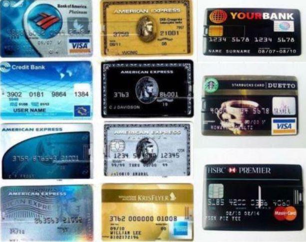 Kreditkarten-USB-Stick