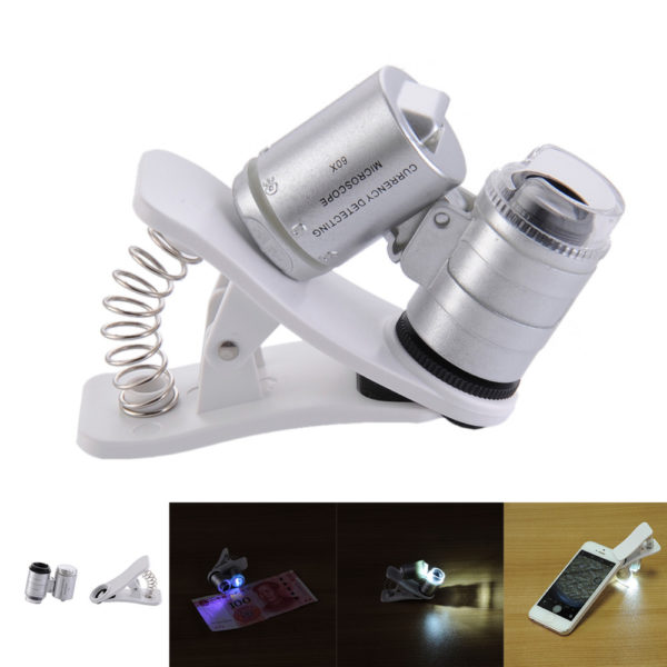 Smartphone Mikroskop Clip