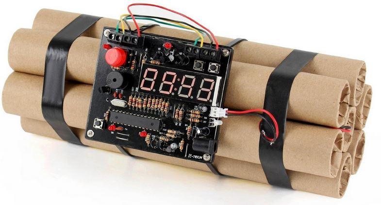 dynamit zeitbomben wecker zum entsch rfen ab 22 89. Black Bedroom Furniture Sets. Home Design Ideas