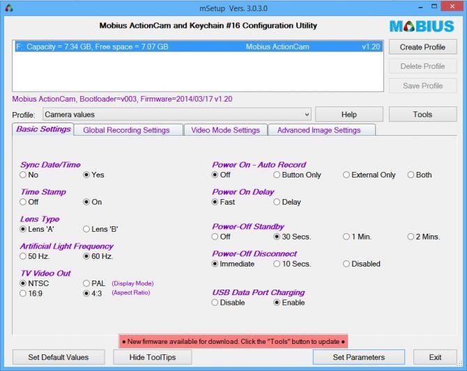 msetup: einfaches Konfigurieren mit einem Klick