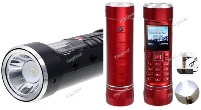 Dual-Sim-Taschenlampe