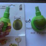 Party! Sprühaufsatz für Zitrusfrüchte im 2er Set für 1,04€