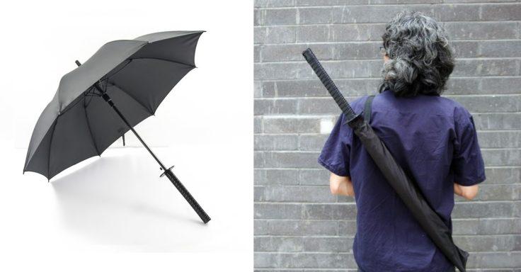 Katana Regenschirm