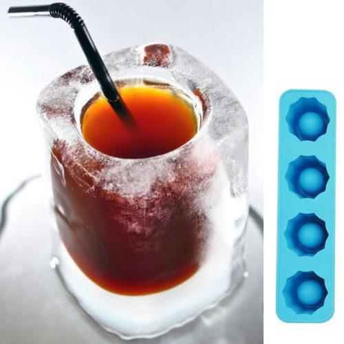 Shotglas Eisform aus Silikon