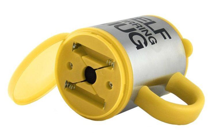 Lazy Mug Batteriefach