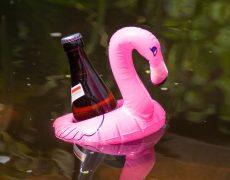 Dosen Flaschen Halter Flamingo