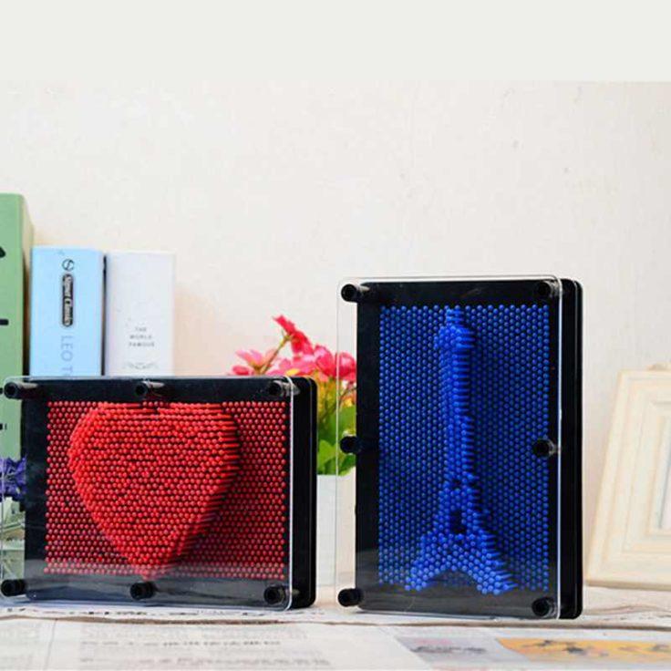 Nagelbrett Herz oder Eiffelturm